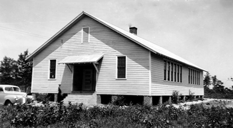 Bethel School about 1932.  Photo courtesy of SC Department of Archives and History.