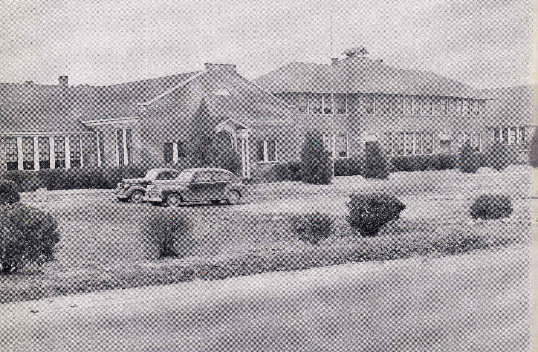 Blythewood School Campus about 1950.