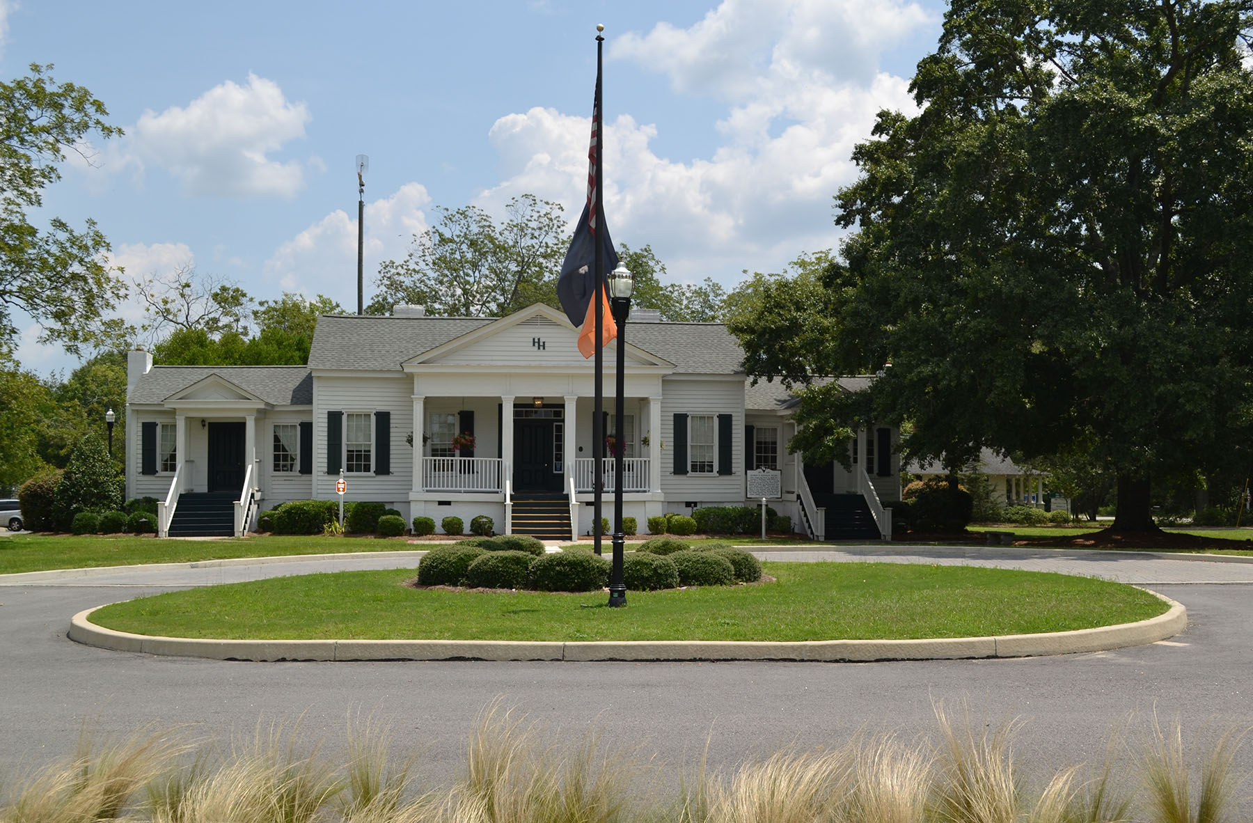 Historic Hoffman House/Blythewood Town Hall 2014.  Photo by Jim McLean