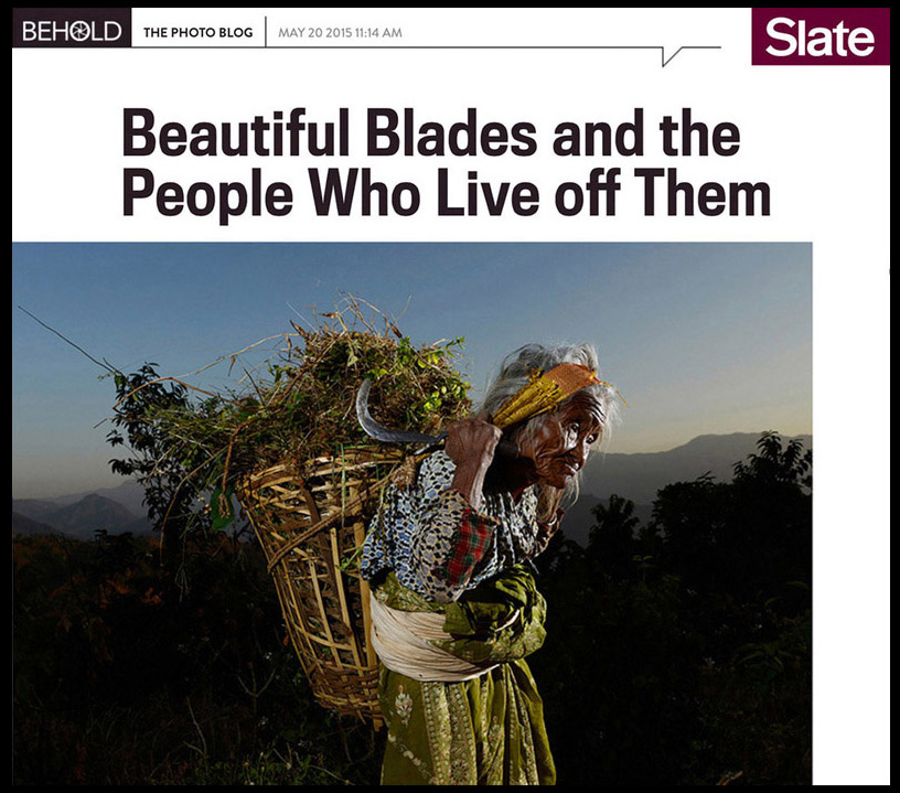 Slate - The Machete Project was featured on Slate's behold blog.
