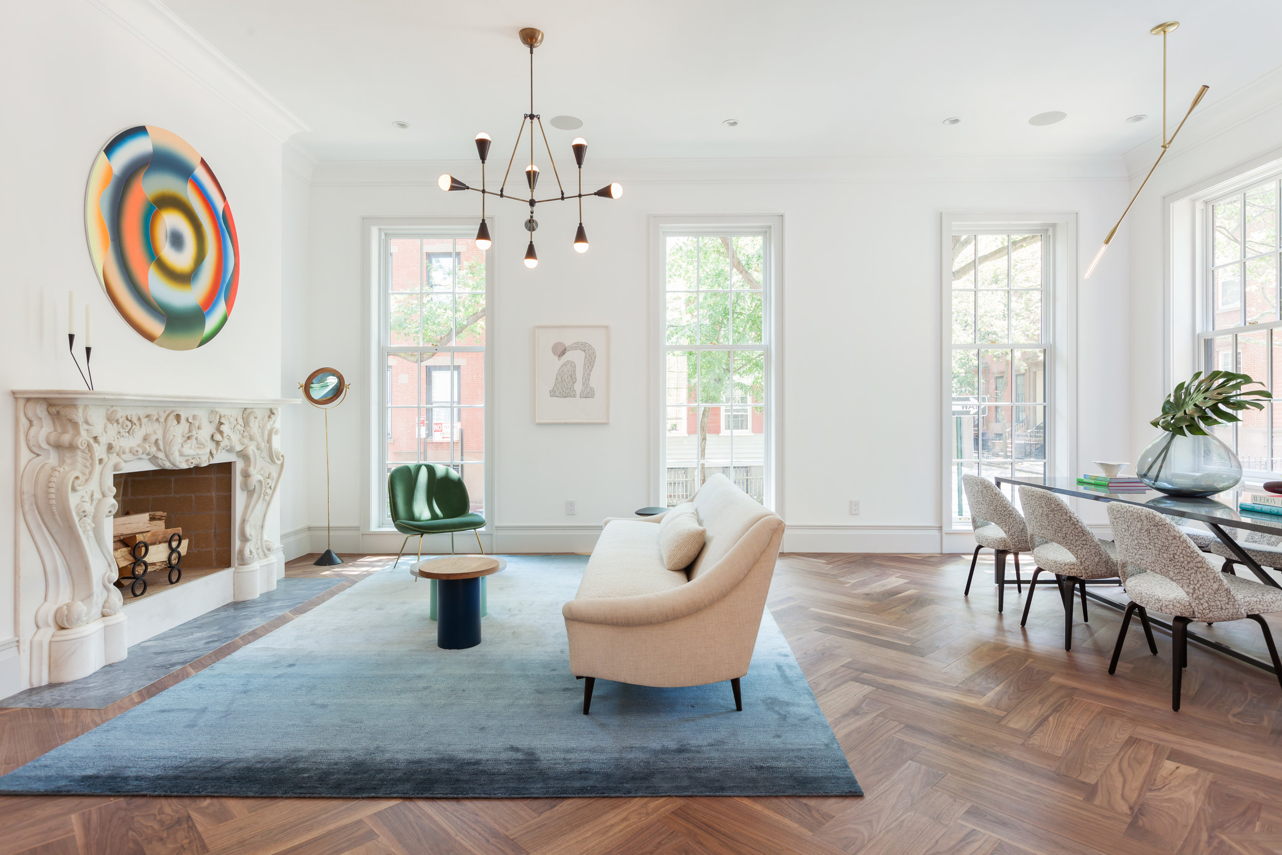 """""""The Design Duo Behind Studio DB Restores a Brooklyn Heights Townhouse"""" By Hadley Frel - August 25, 2016"""