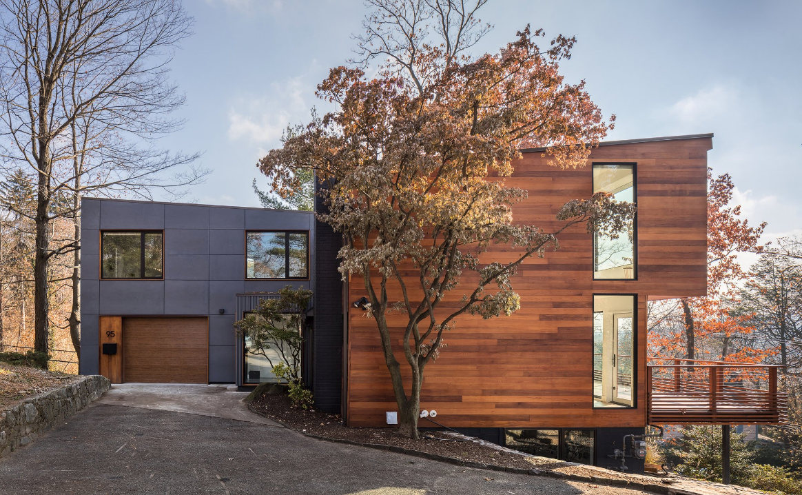 """""""In Hastings-on-Hudson, a House in the Trees"""" By Tim McKeough - January 2, 2018"""
