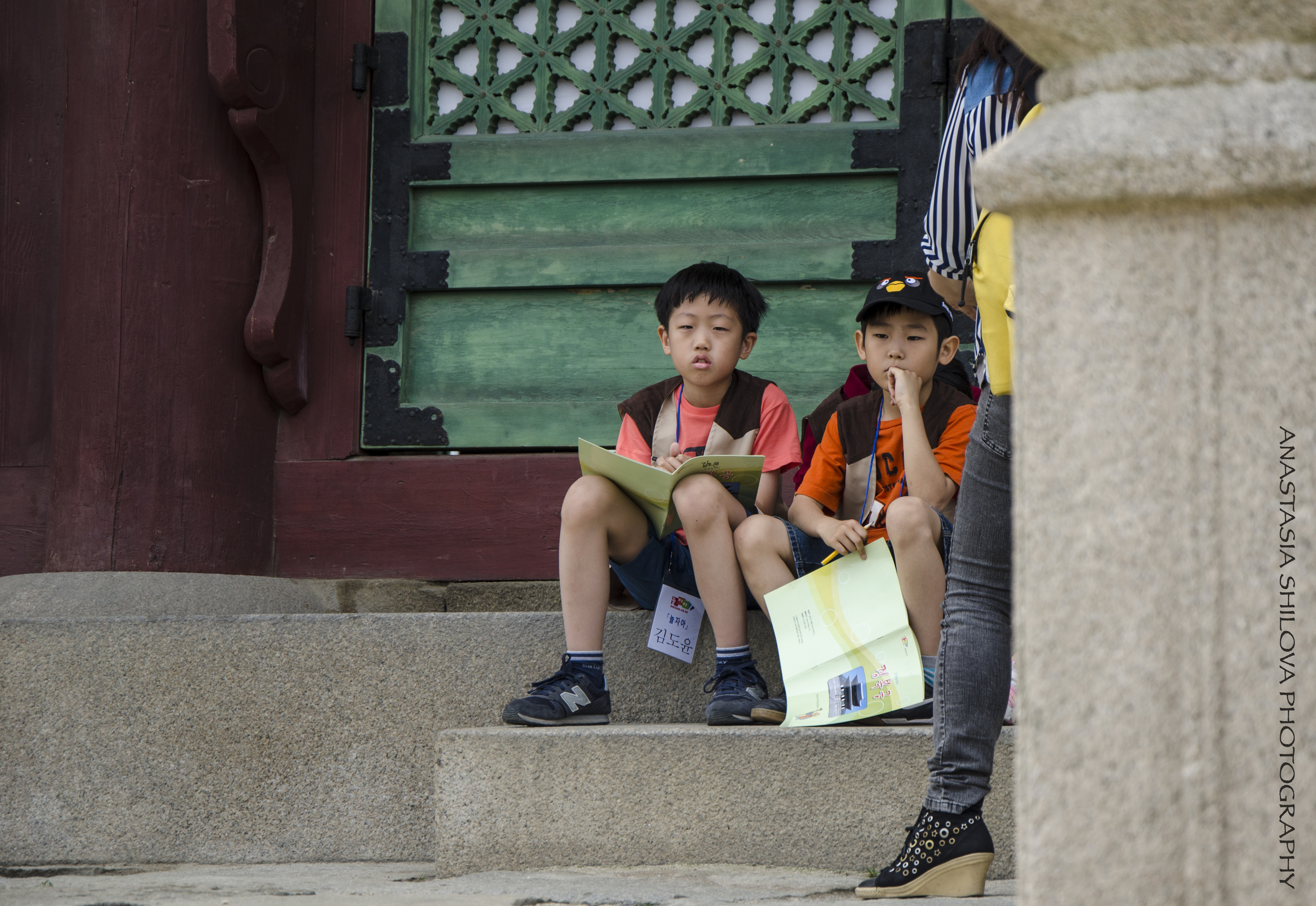 Young Tour Guide Volunteers
