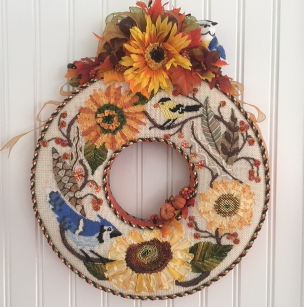 Fall Wreath BB 129