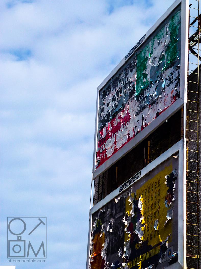 Boston - Downtown - Billboard