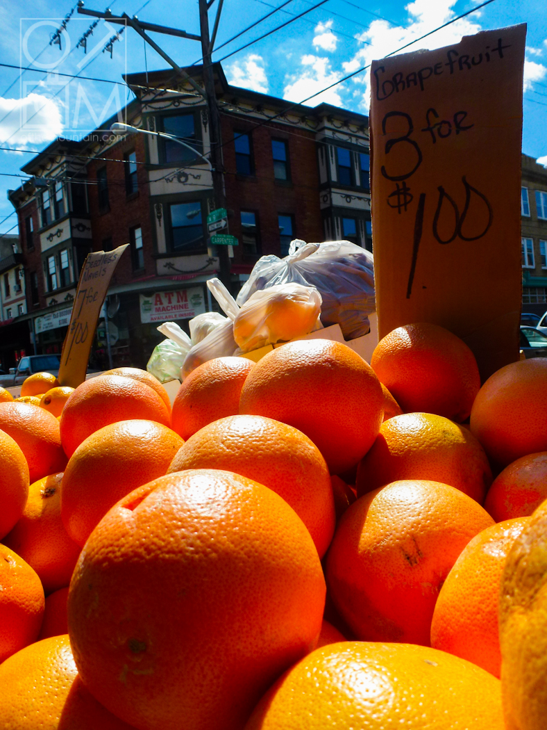 Philly - Italian Market - Oranges