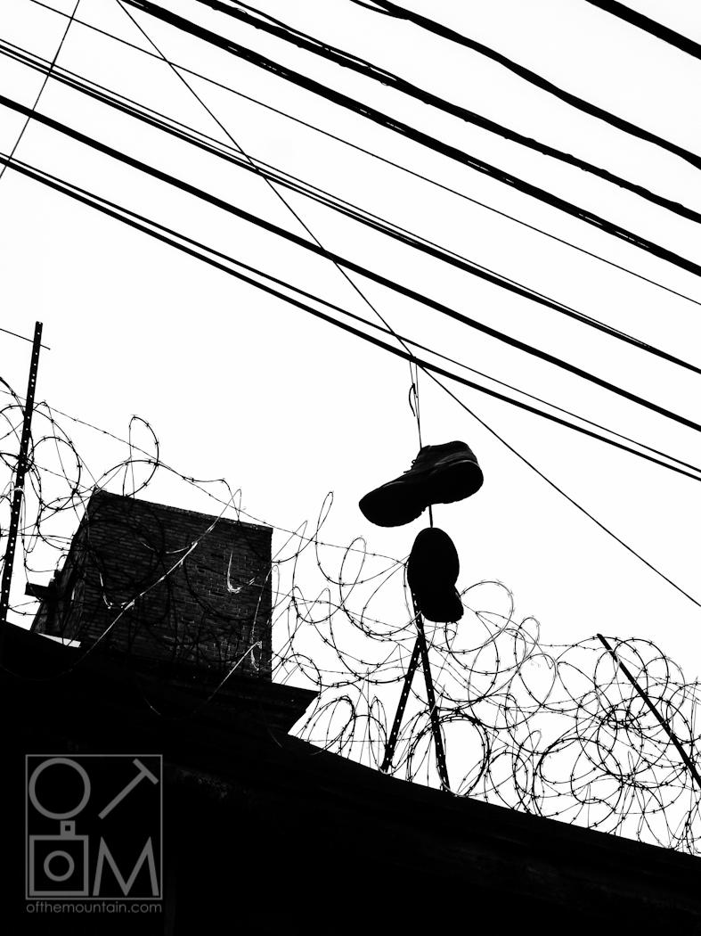 Philly - Spring Garden - Barbwire