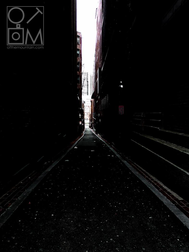 Boston - Downtown - Dark Alley