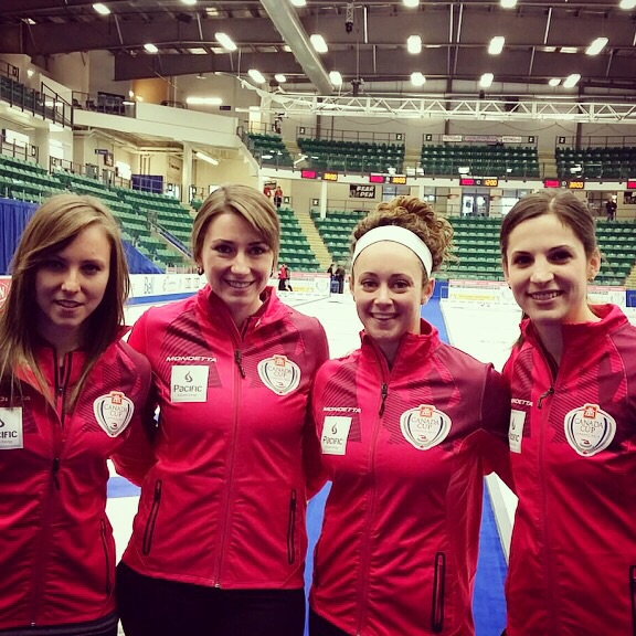 Team Homan at the 2014 Canada Cup