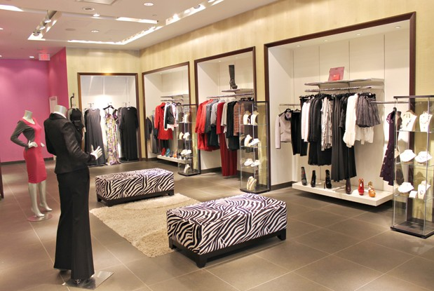 The clothes at Parisian-inspired Madame Moje are an elegant mix of knits, form-fitting dresses and jackets of various textures. Though the prices vary — from a $100 bolero to a $680 bouclé and suede trench coat — the tags reflect the quality and craftsmanship behind the goods.  Everything designed by Madame Moje is created and manufactured in Canada, including the accessory brands Madame Moje brings in. Stunning, colourful, leather footwear from Red Lovo ($280 to $320) are showpieces on their own with their leather straps and eclectic designs, while luxurious bags from Jessica Jensen ($148 for a wallet to $398 for a shoulder bag) and elegant jewellery from Fiore have enough pizzazz to punch up a casual outfit.     Madame Moje , Shops at Don Mills, 23 Karl Fraser Rd.