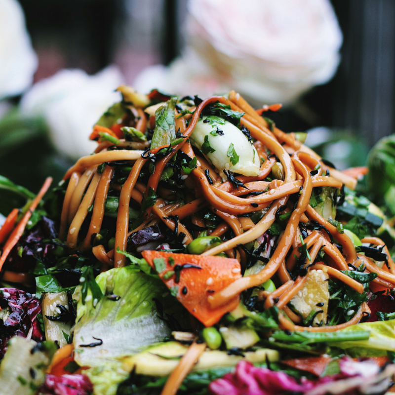 A yummy salad that will help keep your fibre intake on point!
