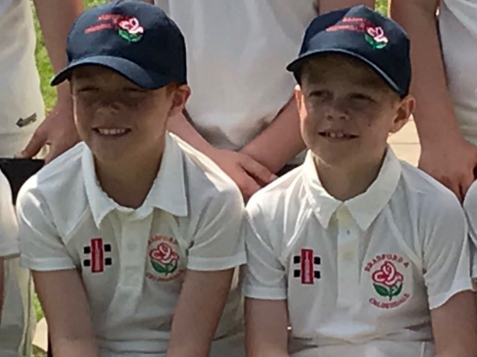 Max Chaplin (Left) and Harry Temperton (Right) have both received a call up to the Yorkshire Under 10's age group.