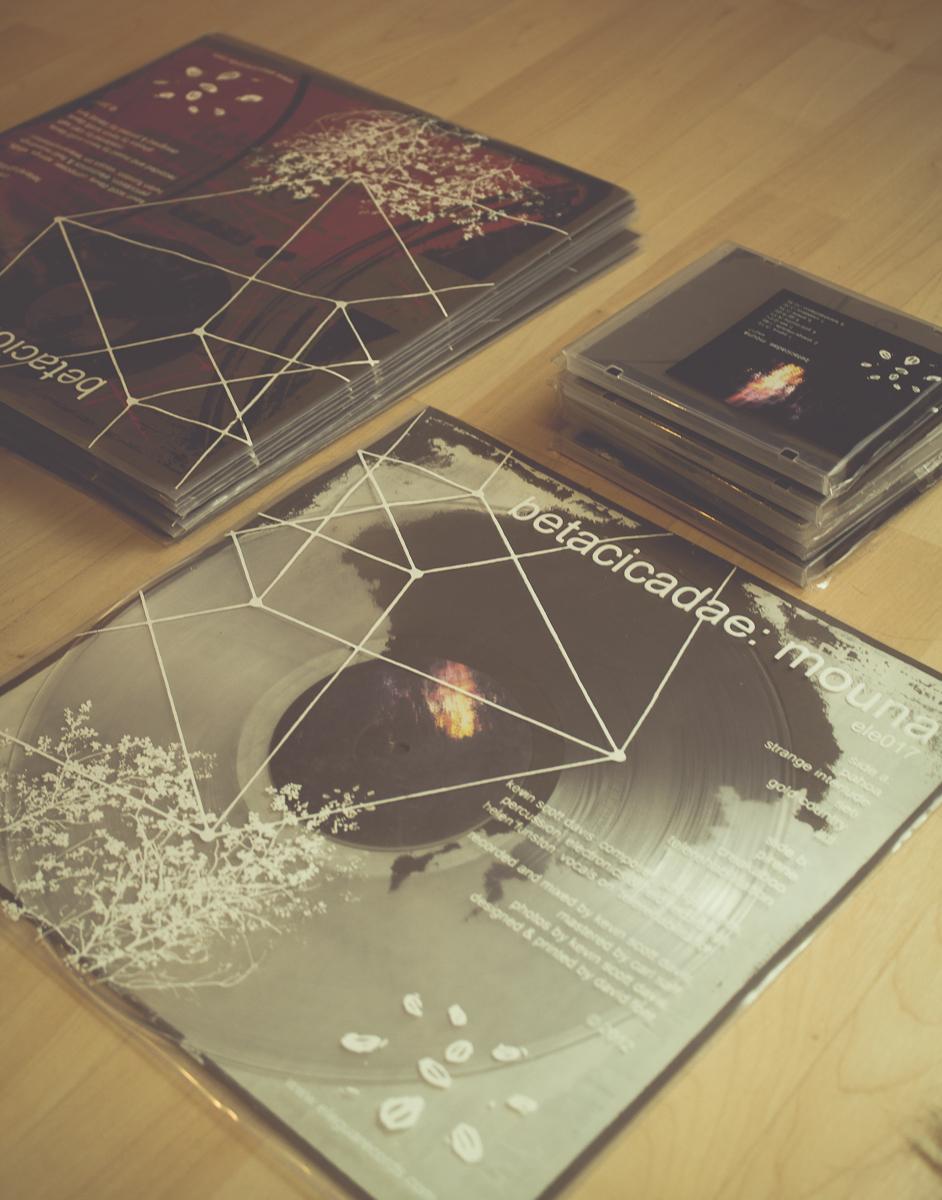 beta cicadae:  Mouna  Limited Edition Vinyl & CDs. © 2013