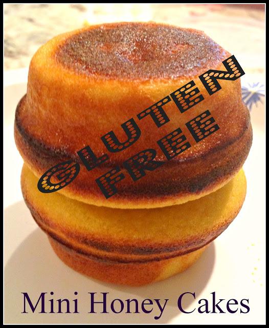 Gluten Free Mini Honey Cakes by Gluten Free A-Z