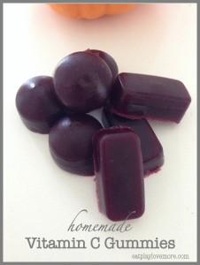 Homemade Vitamin C Gummies by Eat Play Love More