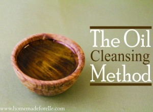 The Oil cleansing Method by Homemade For Elle