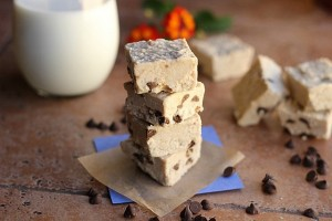 Chocolate Chip Detox Fudge (Dairy Free, Vegan) by Oatmeal With A Fork