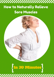 How To Naturally Treat Sore Muscles by Natural Alternative Therapies