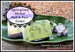 Springtime Herbal Melt And Pour Soaps by Reviews, Chews, and How To's