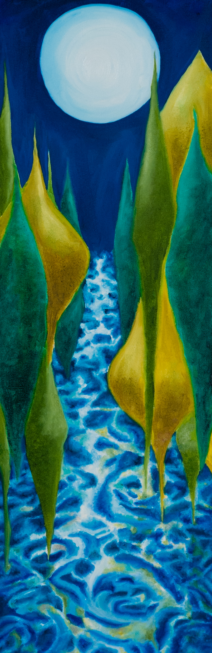 """Oil on canvas. 30"""" x 10"""". 2012   Purchase prints here."""
