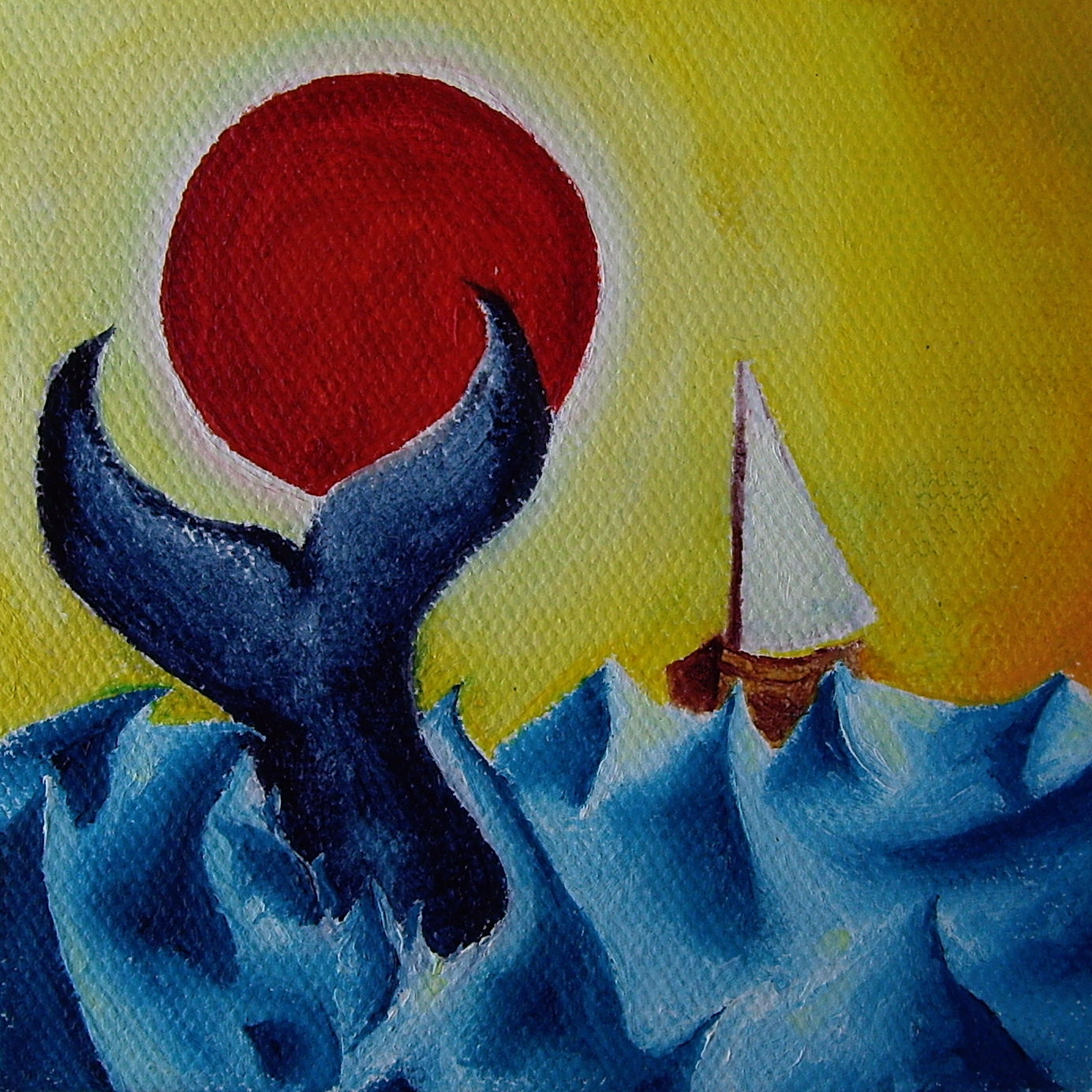 """Oil on canvas. 4"""" x 4"""" x 1"""" 2013   Purchase prints here."""