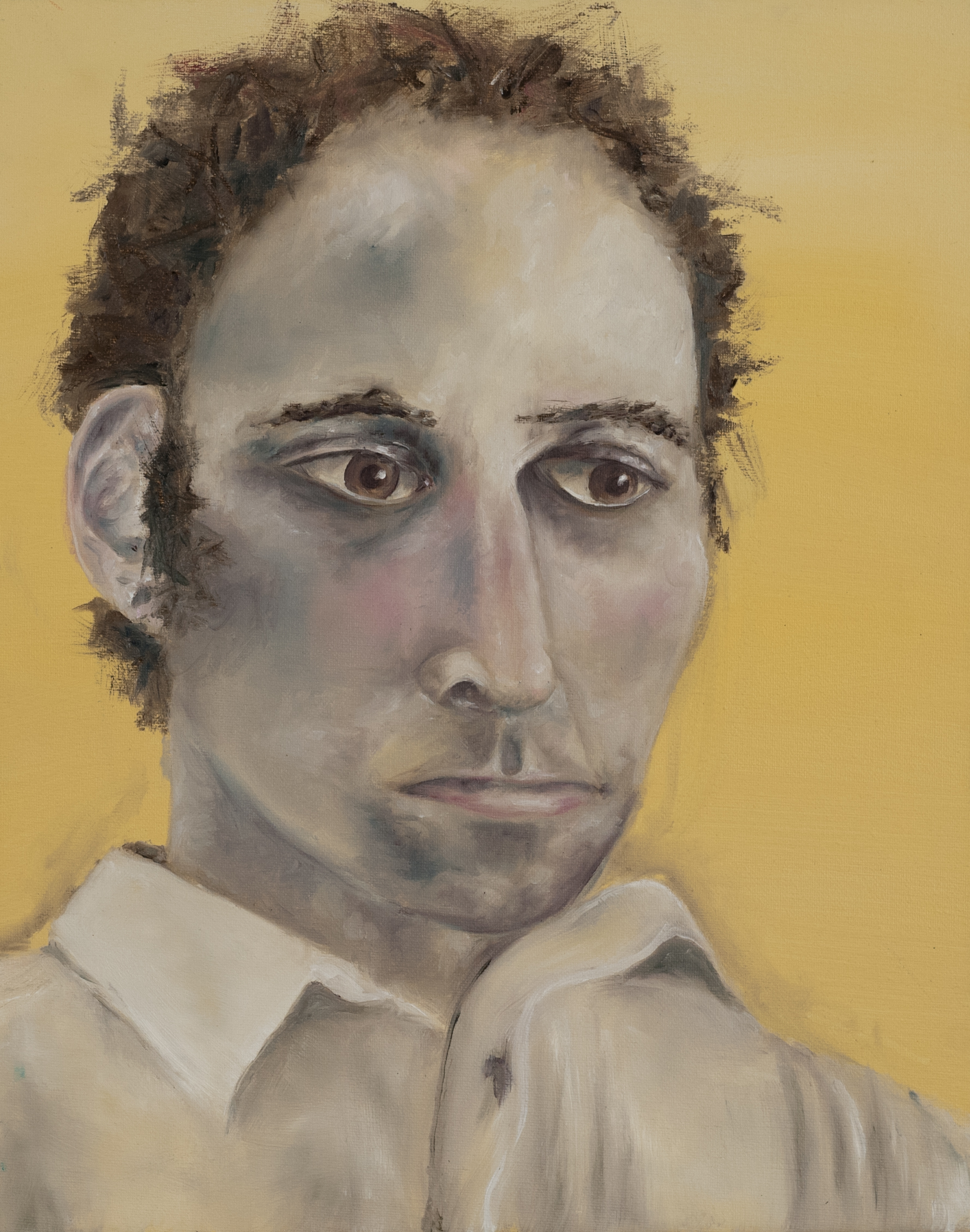 """Oil on canvas. 16"""" x 20"""" 2010   Contact the artist to purchase a print of this image or to commission a portrait."""