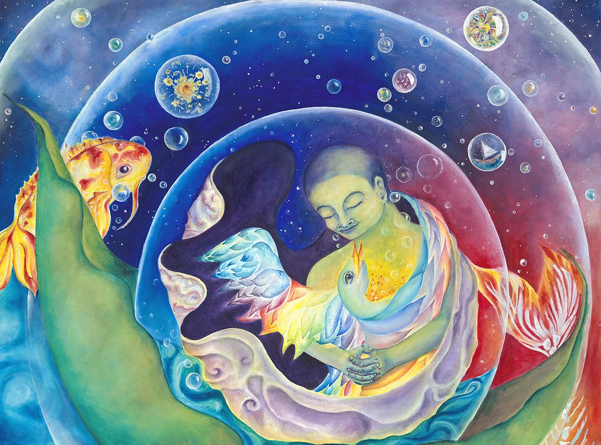 Buddha and the Phoenix.jpg