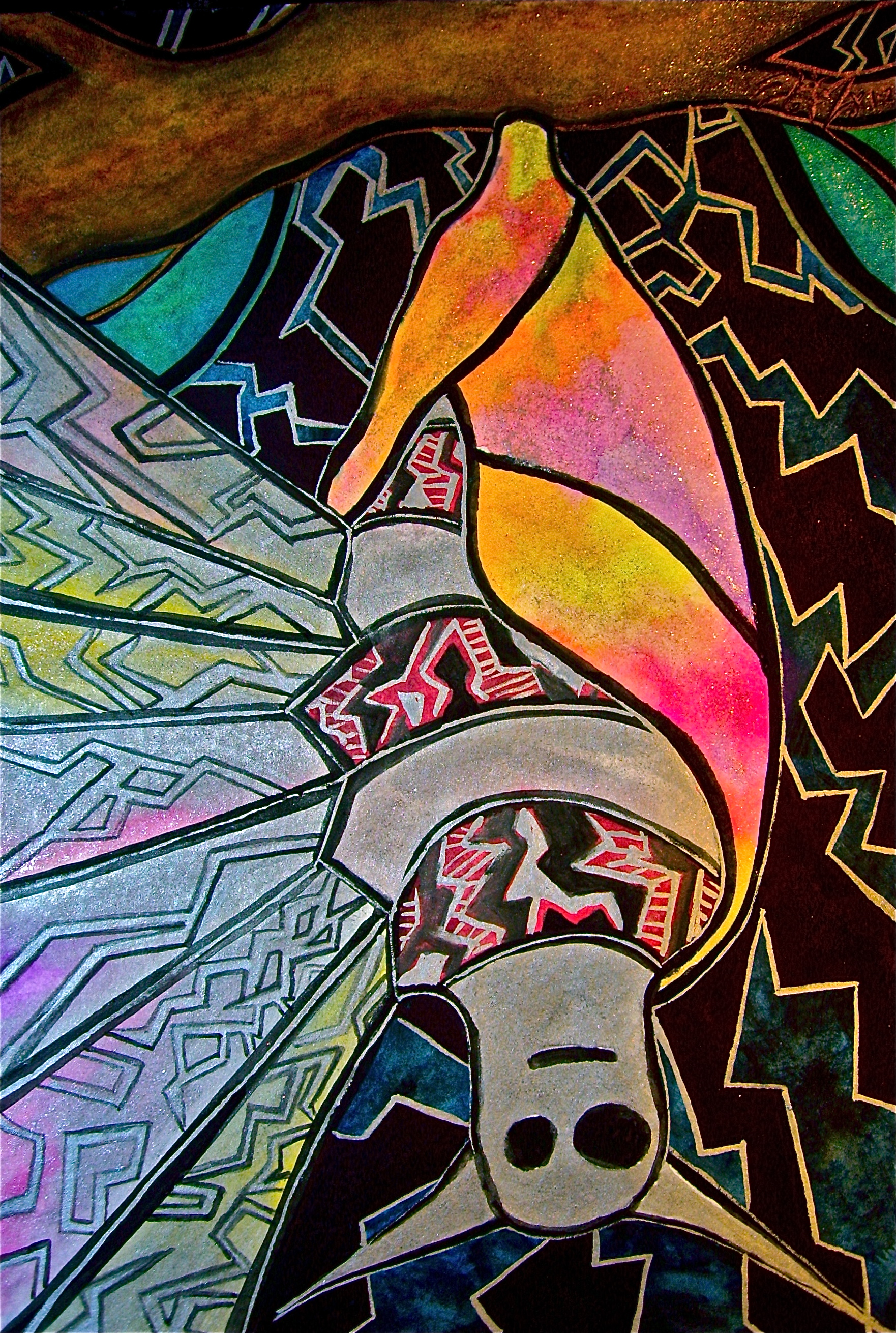 """Watercolor and permanent ink on paper. 6"""" x 8 1/2"""". 1/2/2013.  Win it here  and  Purchase a print here ."""