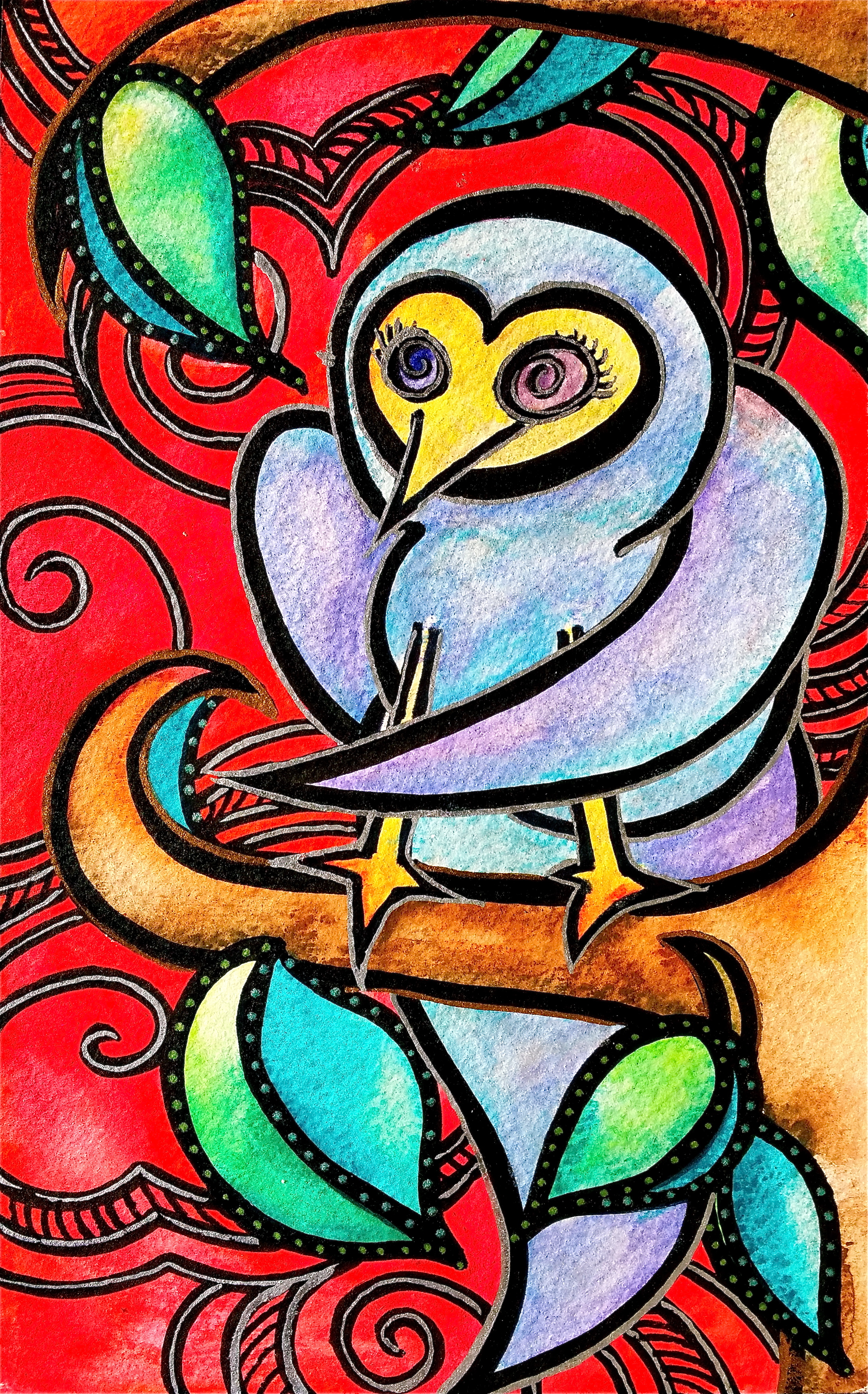 """Watercolor on paper. 5 1/2"""" x 8 1/2""""  Win it here.   PURCHASE A PRINT HERE."""