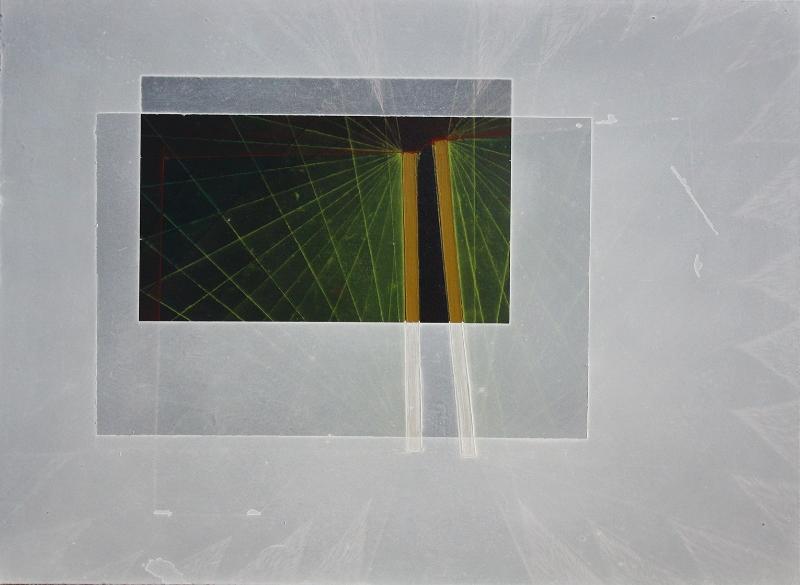 "Threshold Composition B, 10x12.5"", oil on panel, 2014"