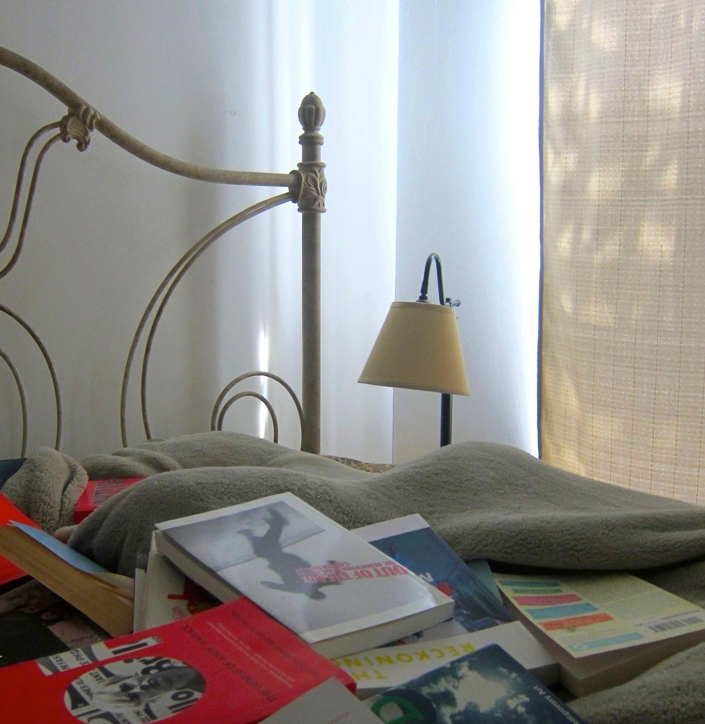 Katya Grokhovsky, Katya's bed, 2014