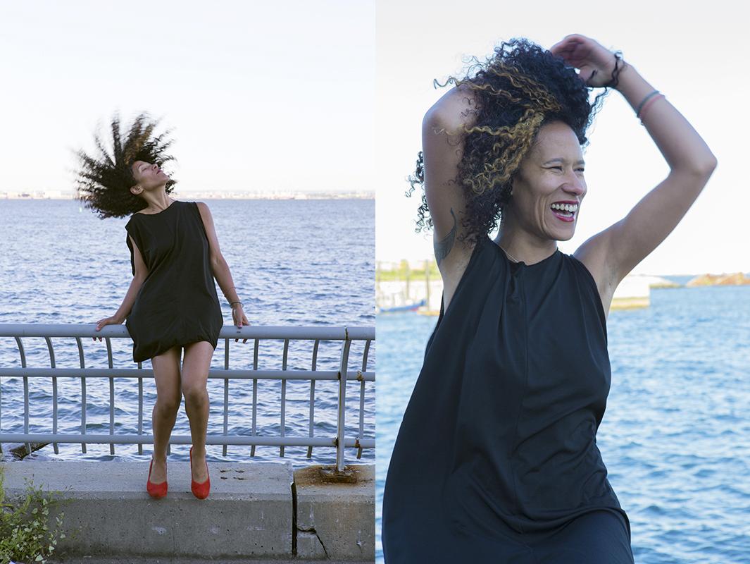 model Tia Dunn for  Bergwerk BK