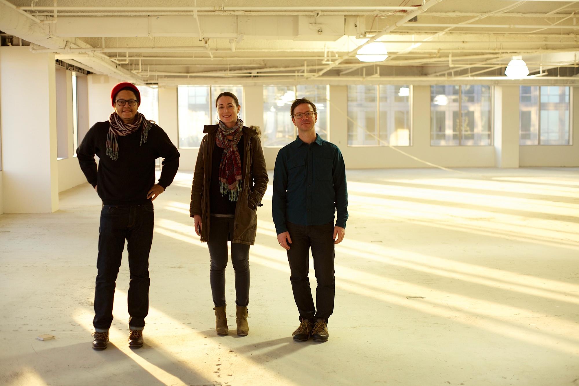 The Color Machine: RaafiRivero, Liz Regan and Jordan Alport