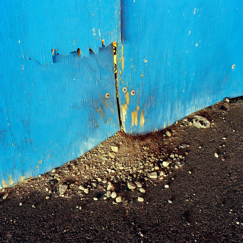 Debris Apron by Miska Draskoczy,  courtesy of Tepper Takayama Fine Arts