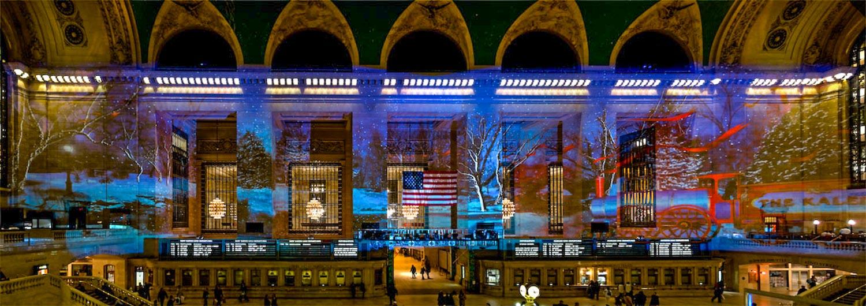 Grand Central Christmas Lights