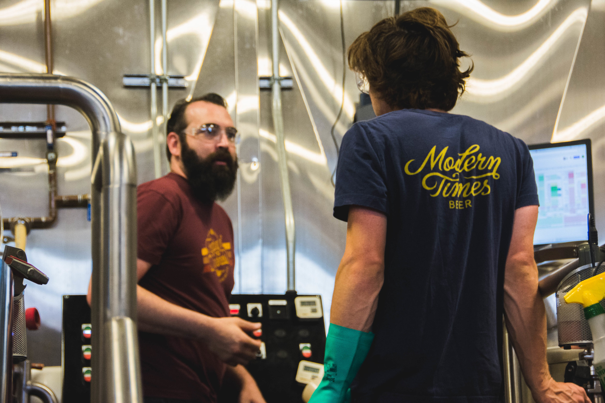 Awesome Brewing Team at Modern TImes