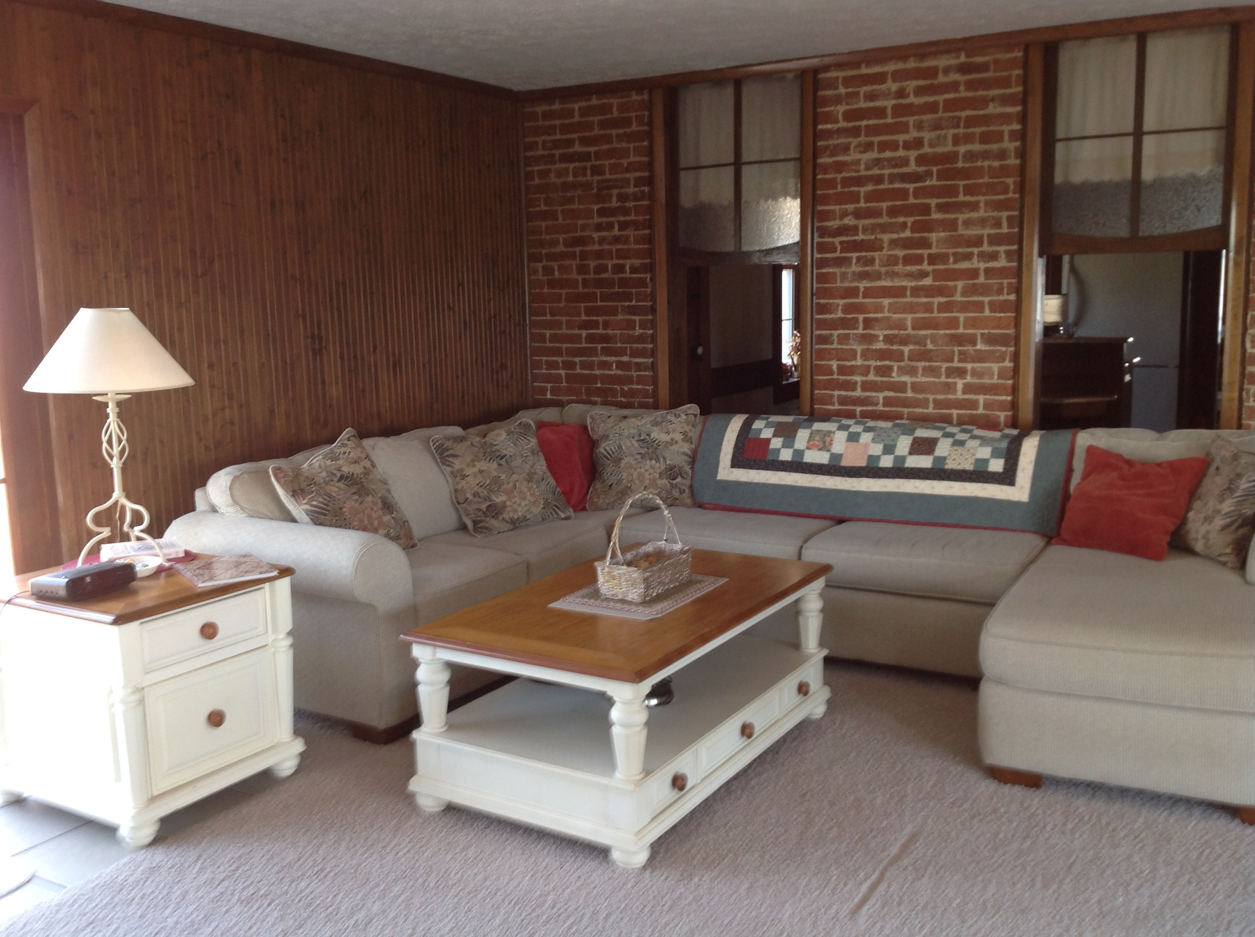 Sitting area on the east side of Retreat Room.