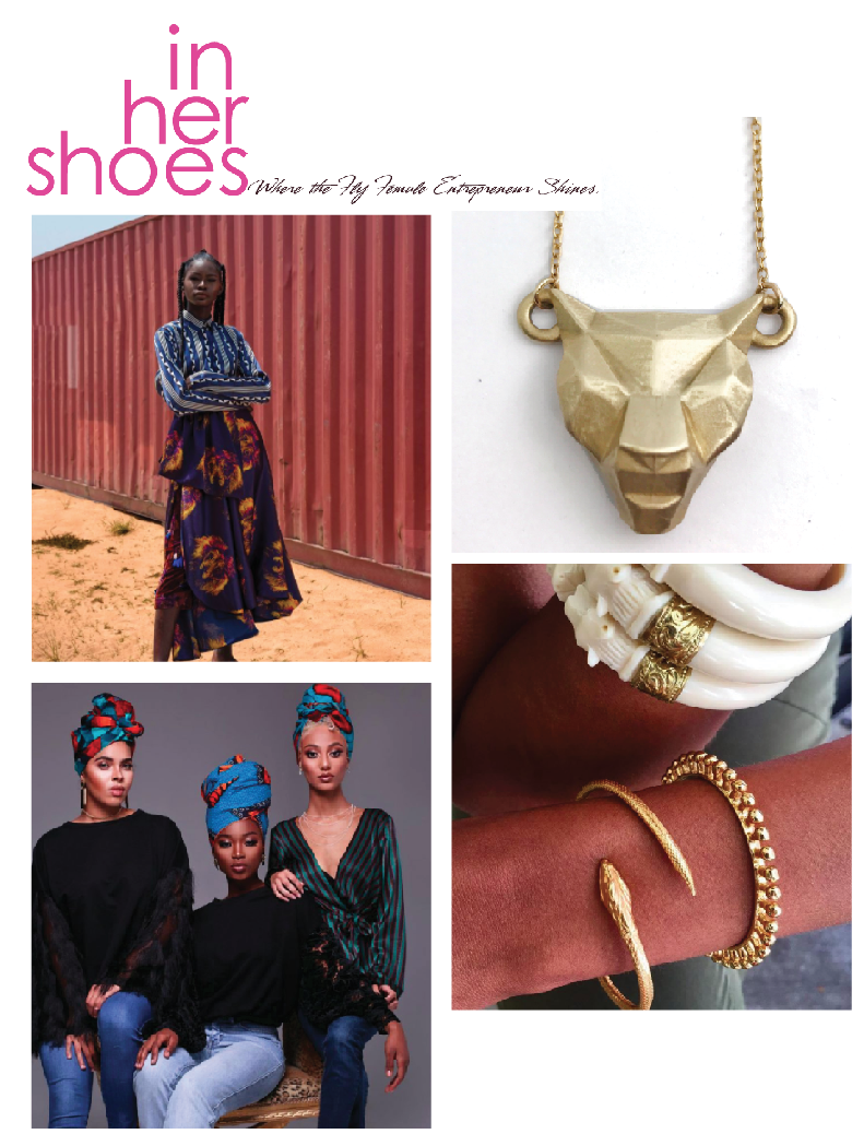 MeharyJewel is included  In Her Shoes blog 's roundup of BRANDS YOU SHOULD KNOW that represented for the current Black Panther film phenomenon! Get your Panther pendant and return to Wakanada!