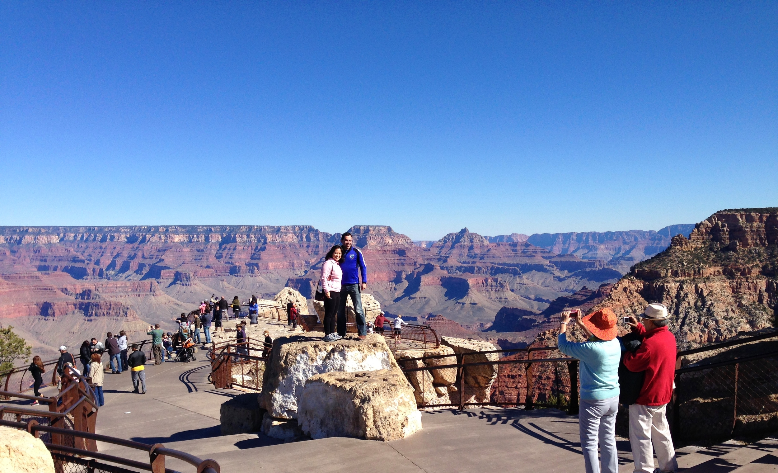 The world comes to experience the Grand Canyon. How many different languages will you hear on your visit?