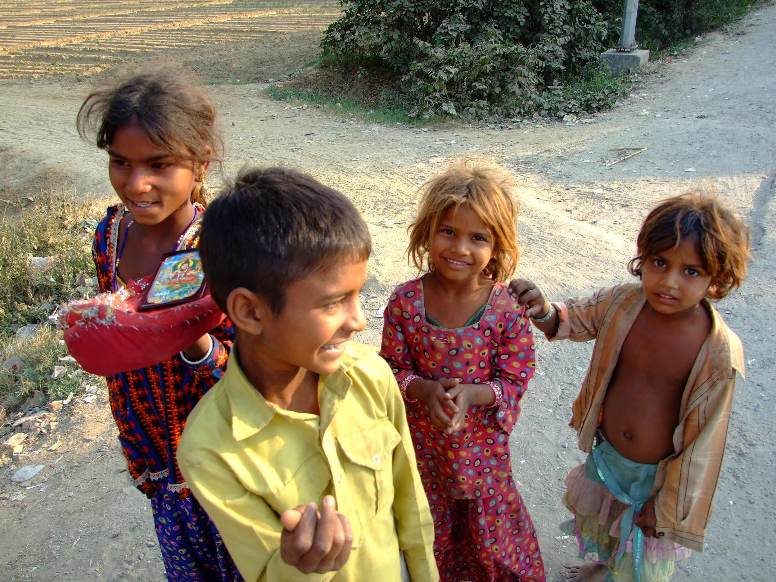 Near Agra, India