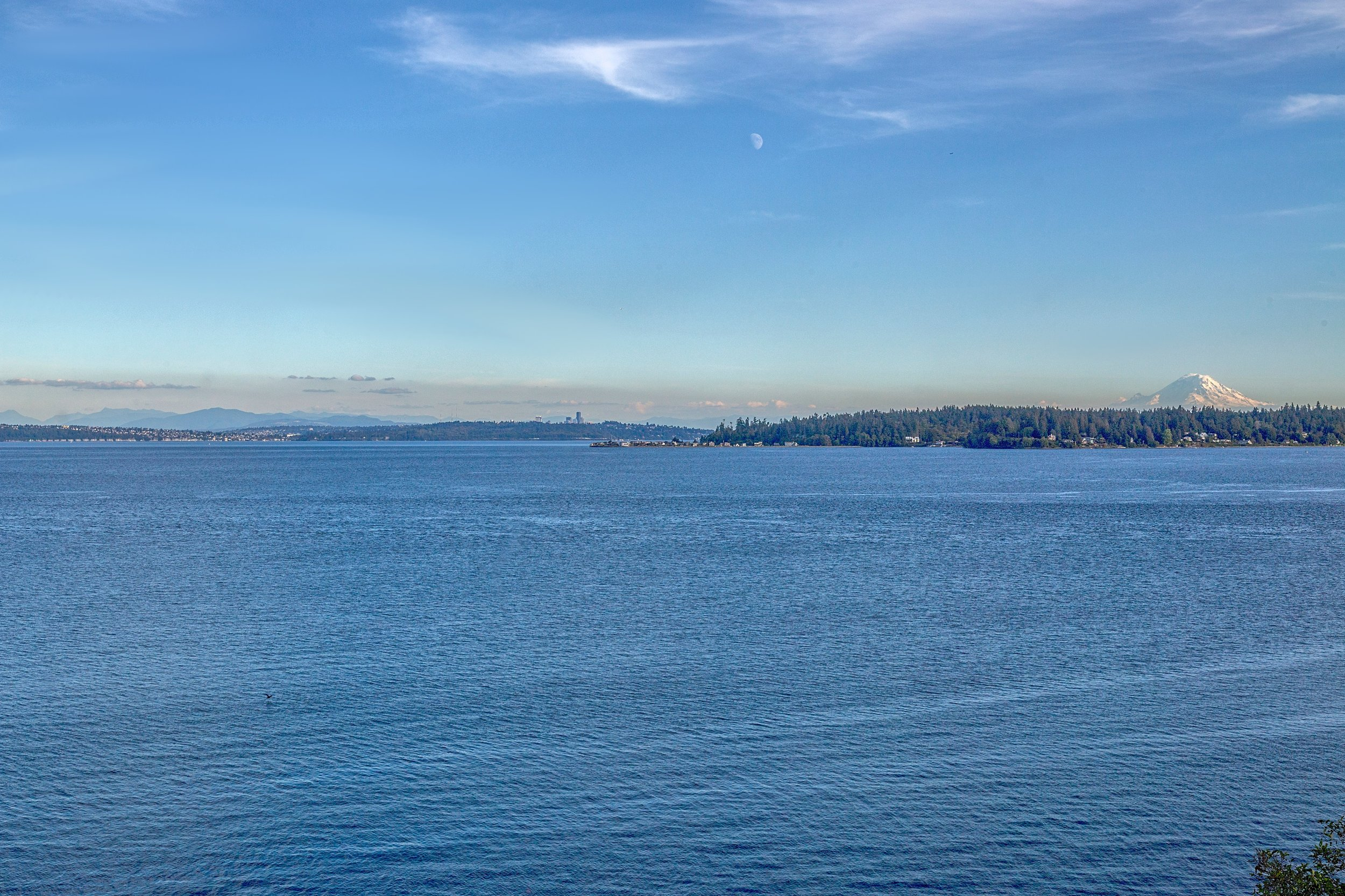 Some views of Mt Rainier and Seattle from a shoot in Suquamish.