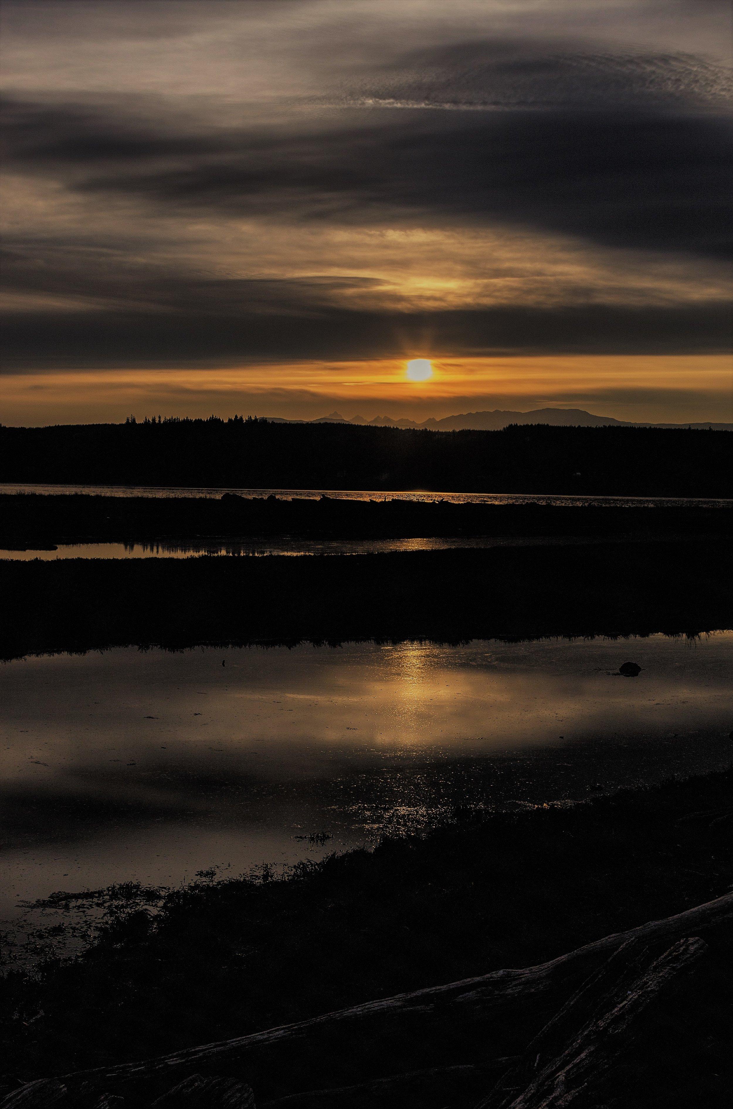 Marrowstone Island, WA (This Evening)