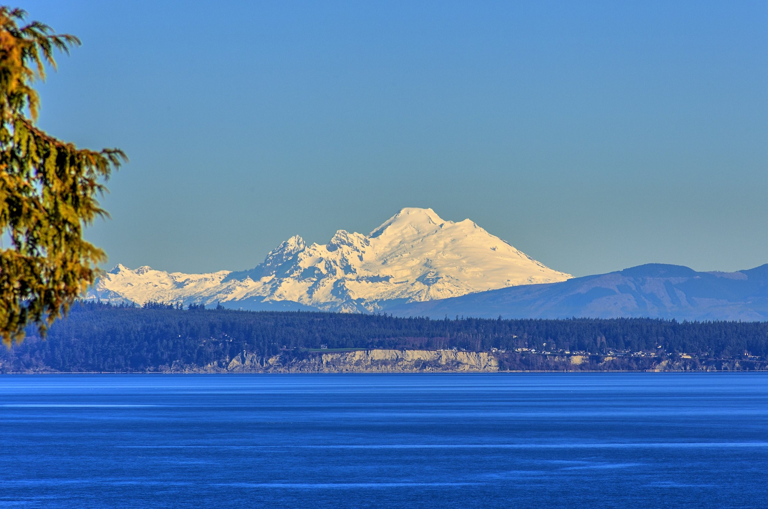 Mt. Baker, from Port Ludlow, WA (yesterday)