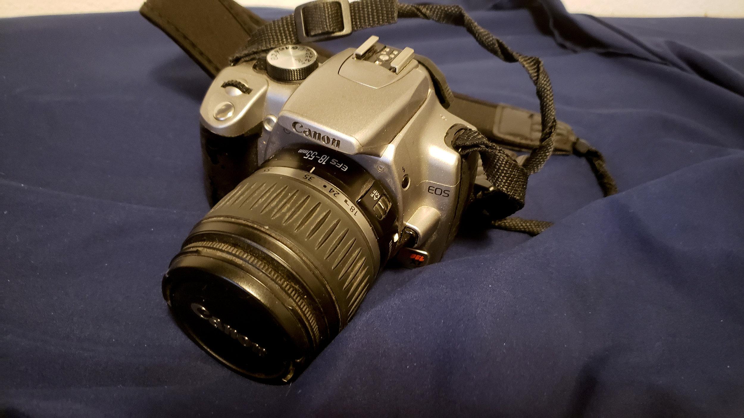 My Canon Rebel XT