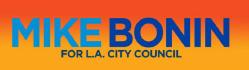 MIKE BONIN LOS ANGELES CITY COUNCIL LOGO
