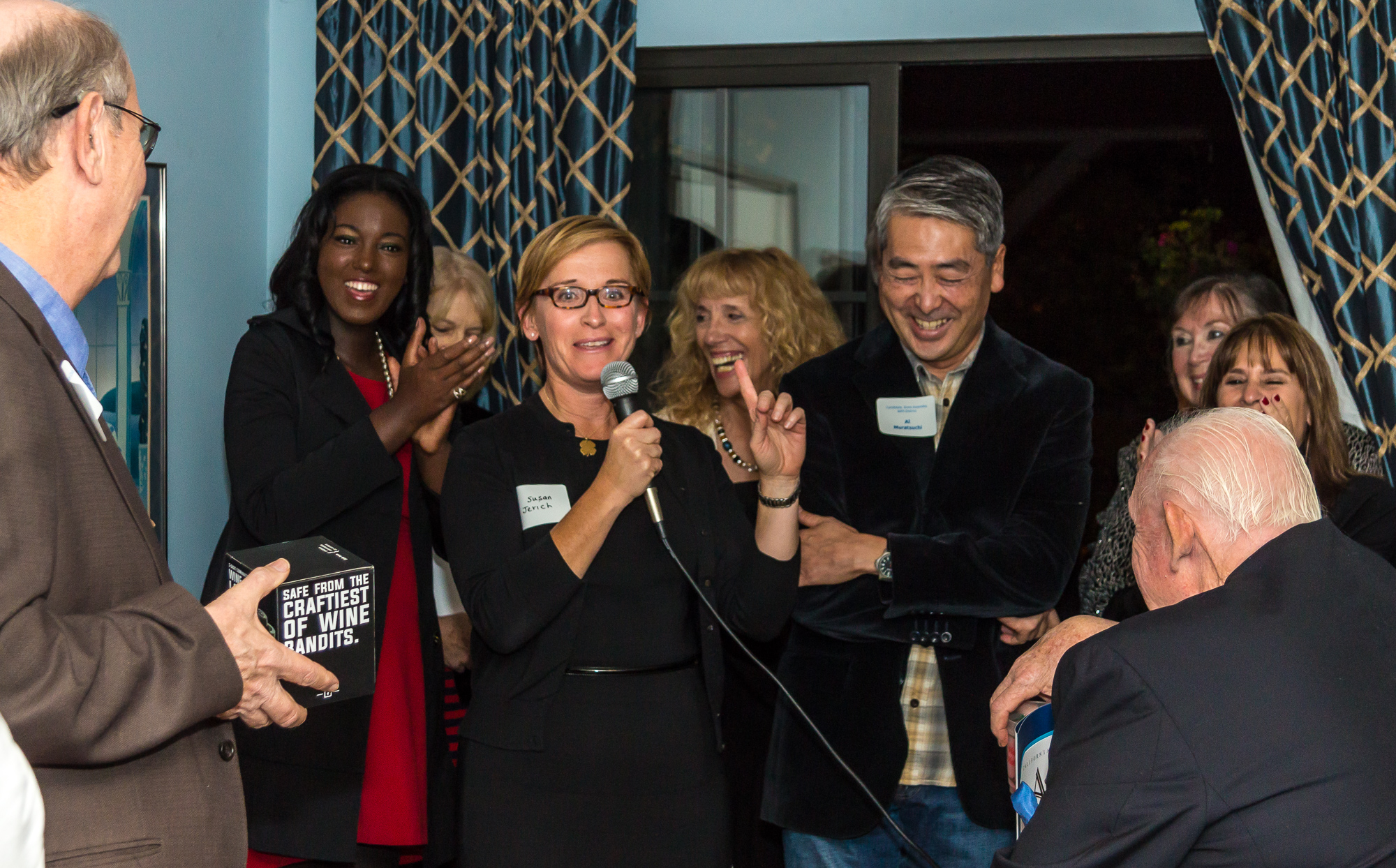 Westchester-Playa Democratic Club Holiday Party 2015 -40.jpg