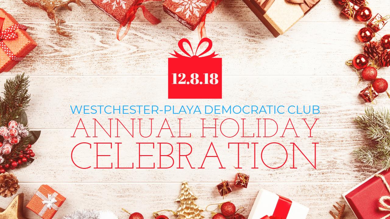 democratic club holiday party