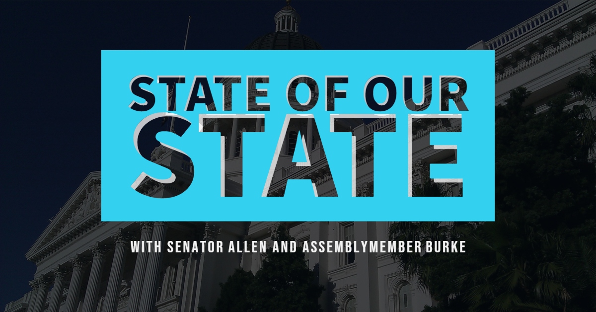 california state of our state democrats