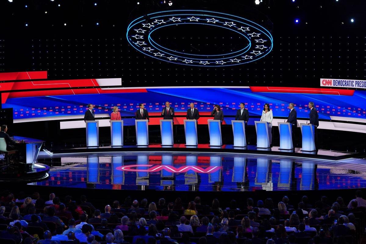 october 15 democratic debate los angeles