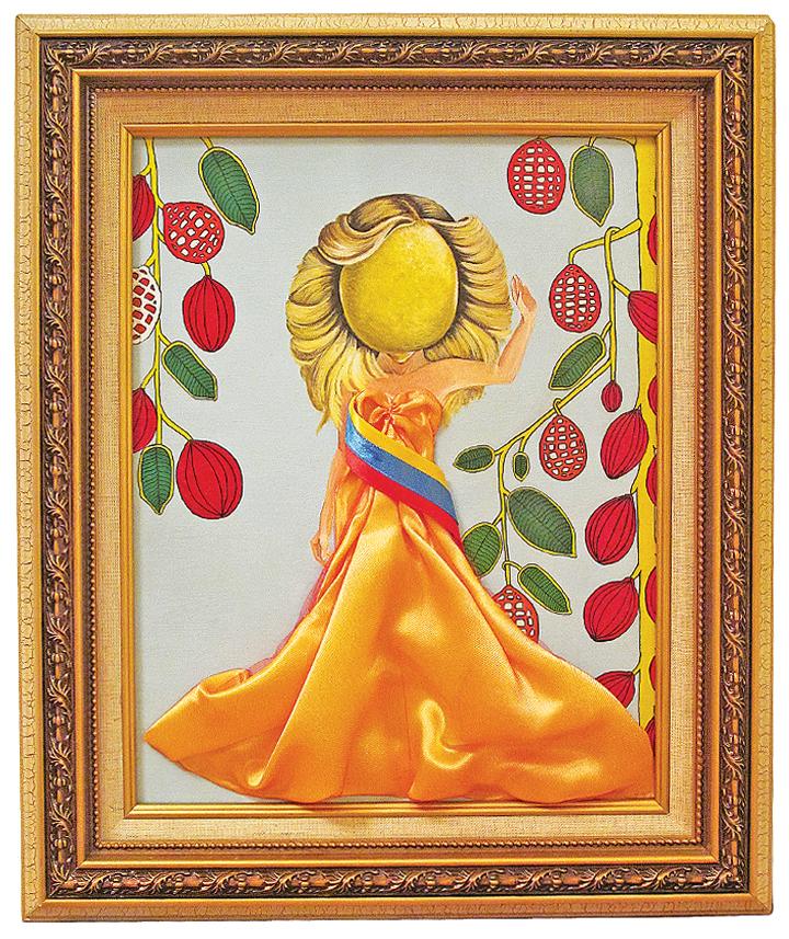 THE CITRUS FAMILY   Acrylic with Mixed Media
